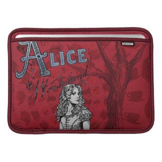Alice in Wonderland - Tim Burton MacBook Sleeves