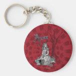 Alice in Wonderland - Tim Burton Key Chains