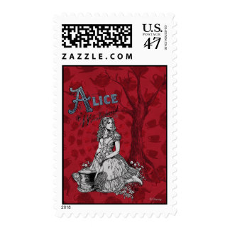 Alice in Wonderland - Tim Burton Postage