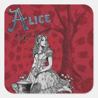 Alice in Wonderland - Tim Burton Stickers