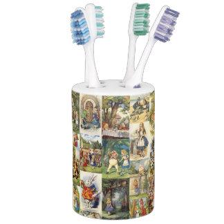 Alice in Wonderland Toothbrush Holder. Wonderland Bath Sets   Zazzle