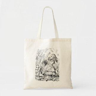 Alice in Wonderland Tote Budget Tote Bag