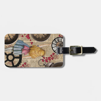 Alice In Wonderland Travelling in Time Bag Tag