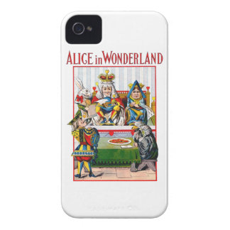 Alice in Wonderland - Trial of the Knave of Hearts iPhone 4 Cover