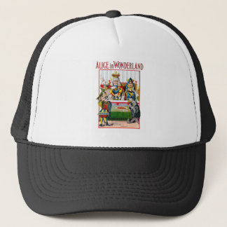 Alice in Wonderland - Trial of the Knave of Hearts Trucker Hat