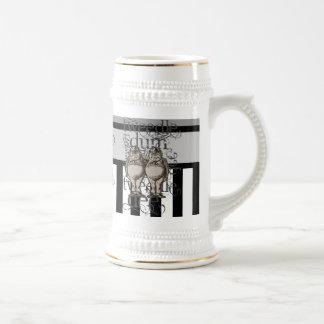Alice In Wonderland Tweedledum & Tweedledee Grunge Coffee Mug