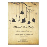 Alice in Wonderland Unbirthday Birthday Tea Party Card