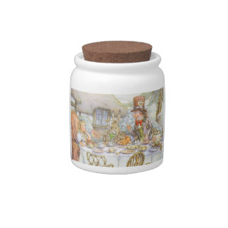 Alice In Wonderland Vintage Art Candy Dish