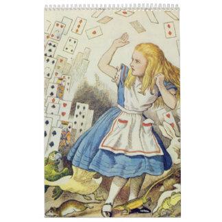 Alice in Wonderland, Vintage Calendar