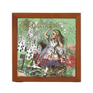 Alice in Wonderland Vintage Card party Pencil/Pen Holder
