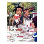 Alice in Wonderland Vintage Illustration Postcards