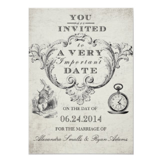 Alice In Wonderland Invitations Amp Announcements