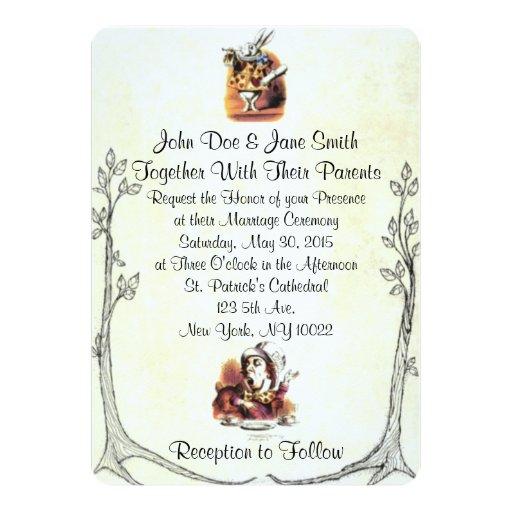 Alice In Wonderland Invitations for beautiful invitation ideas