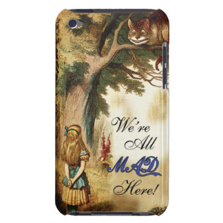 Alice in Wonderland Were All Mad Here Barely There iPod Cover
