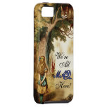 Alice in Wonderland We're all mad here iPhone SE/5/5s Case