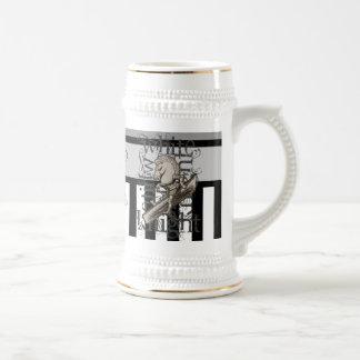 Alice In Wonderland White Knight Grunge Beer Stein