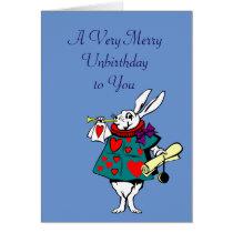 Alice in Wonderland: White Rabbit Card