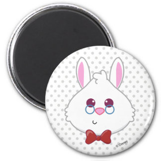 Alice in Wonderland | White Rabbit Emoji Magnet