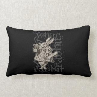 Alice In Wonderland White Rabbit Grunge (Single) Pillows