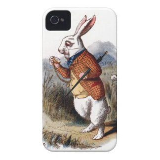 Alice in Wonderland White Rabbit iPhone 4 Case