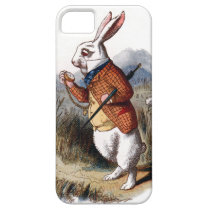 Alice in Wonderland White Rabbit iPhone 5 Case