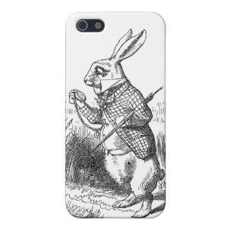 Alice In Wonderland White Rabbit iPhone SE/5/5s Case