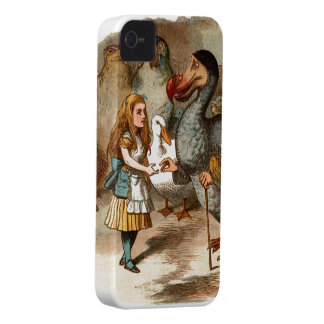 Alice in Wonderland - with Dodo iPhone 4 Cover