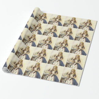 Alice in Wonderland wrapping paper 2
