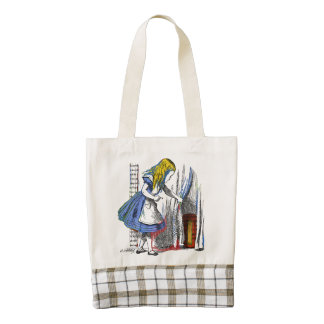 Alice in Wonderland Zazzle HEART Tote Bag