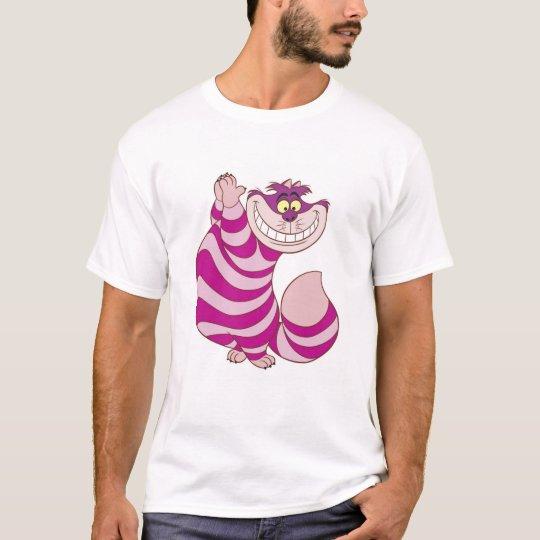 02cbe53e Alice in Wonderland's Cheshire Cat Disney T-Shirt | Zazzle.com
