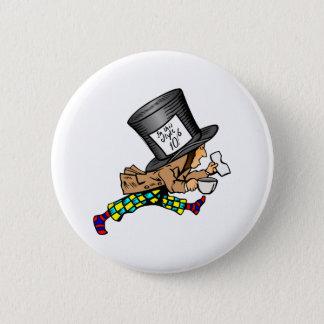 Alice in Wonderland's Mad Hatter Button