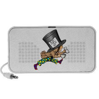 Alice in Wonderland's Mad Hatter PC Speakers