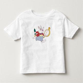 Alice in Wonderland's White Rabbit Running Disney T Shirts