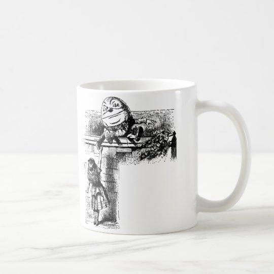 Alice in Wondlerand, Humpty Dumpty with Alice Coffee Mug