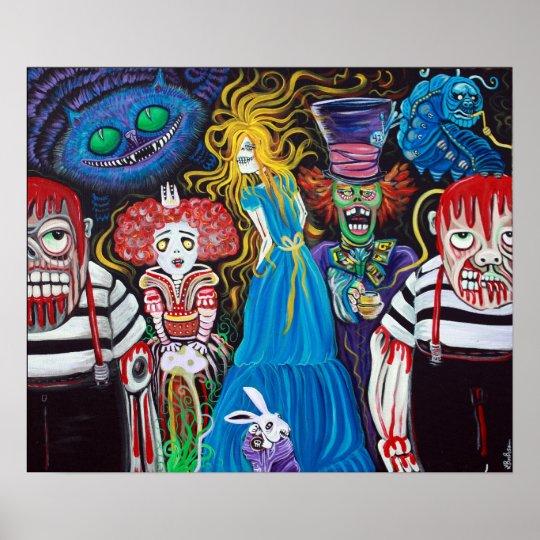 Alice in Zombie  Poster