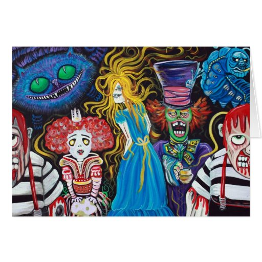 Alice in Zombieland Card