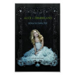 Alice In Zombieland For Your Wall! Poster at Zazzle