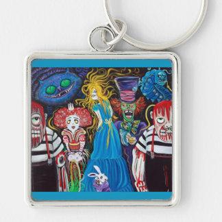 Alice in Zombieland Keychain