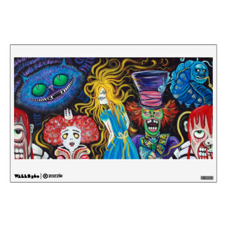 Alice in Zombieland Wall Decal