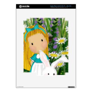 Alice iPad 3 Skin
