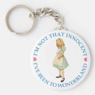 ALICE IS NOT THAT INNOCENT KEYCHAIN