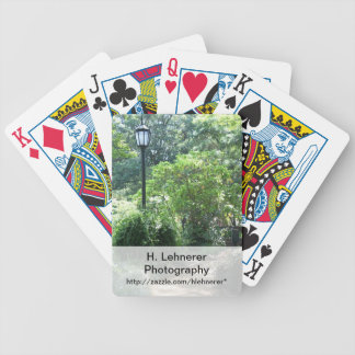Alice Keck Park Memorial Gardens Bicycle Playing Cards