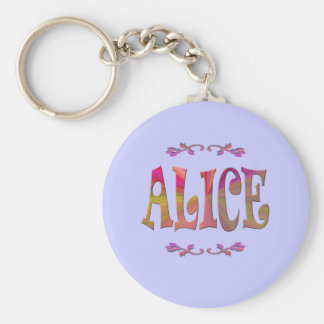 Alice Keychain