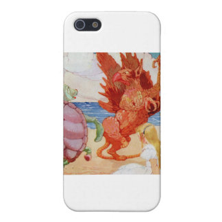 Alice Listens to the Griffin and the Mock Turtle iPhone SE/5/5s Cover