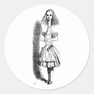 Alice Long Neck Stickers