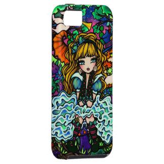 Alice Lost Cheshire Cat Fantasy Art iPhone Case