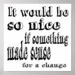 Alice Made Sense Poster