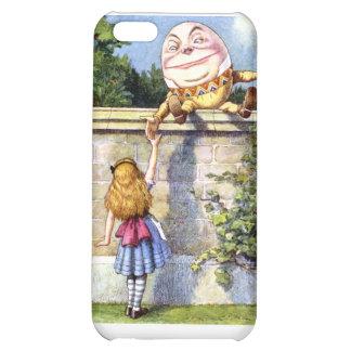 Alice Meets Humpty Dumpty in Wonderland iPhone 5C Cover