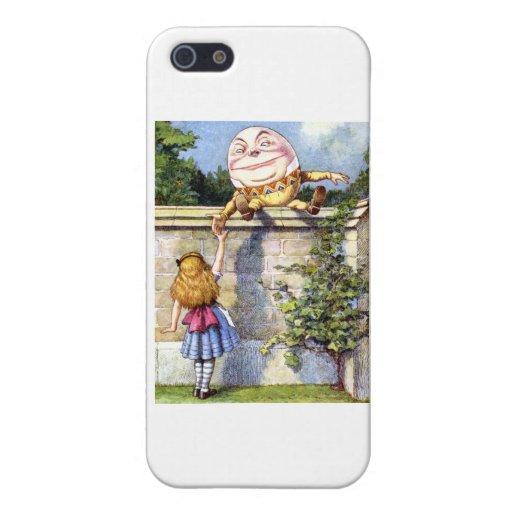 Alice Meets Humpty Dumpty in Wonderland iPhone 5 Case