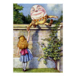 Alice Meets Humpty Dumpty in Wonderland Poster